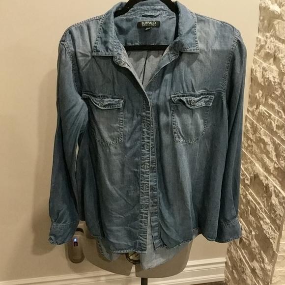 🔥2 for $30 Soft Buffalo Jean shirt